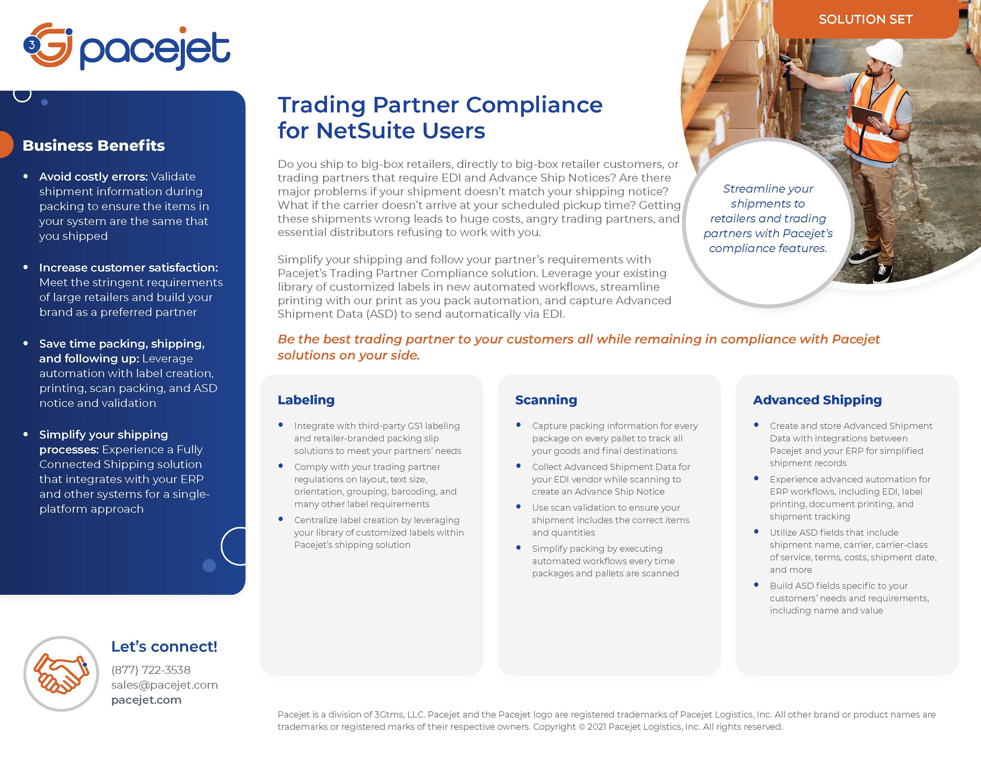 Pacejet-TradingPartnerCompliance-SolutionSet