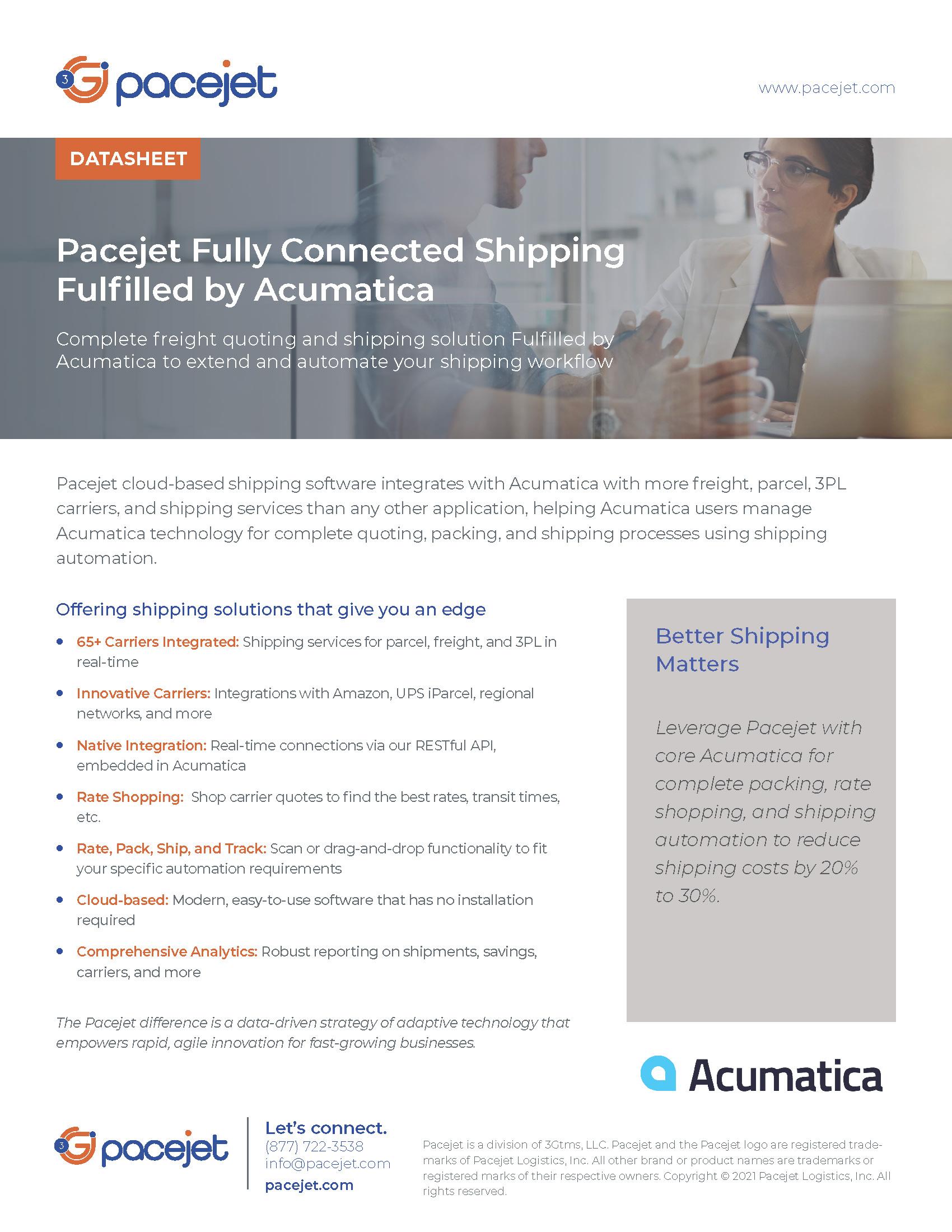 Pacejet_Acumatica_datasheet