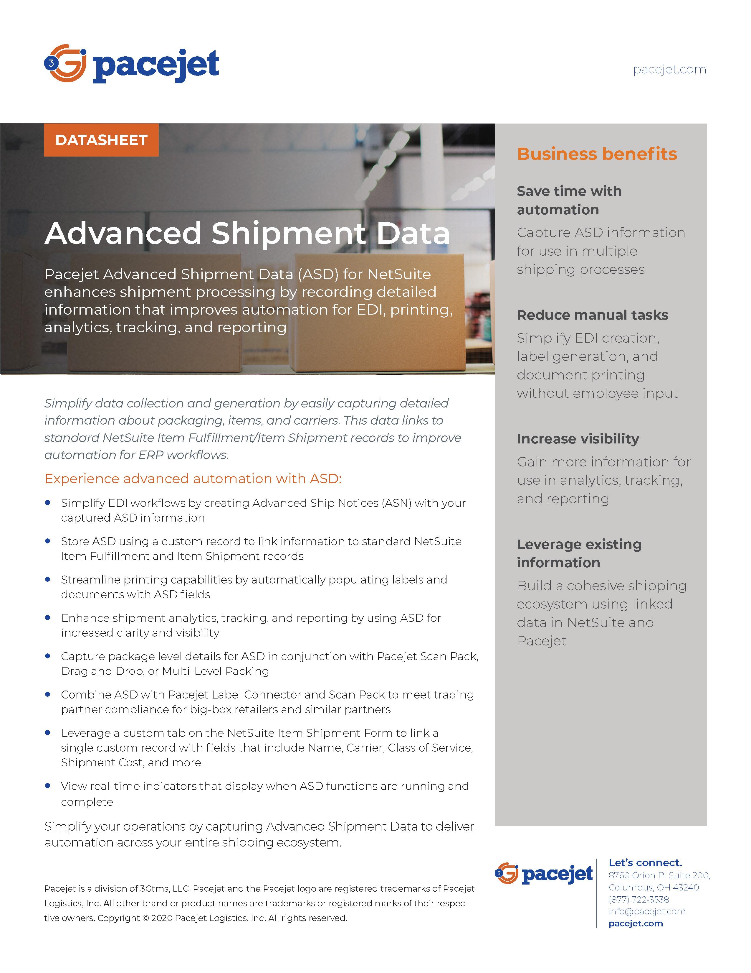 Pacejet_Advanced_Shipment_Data_datasheet